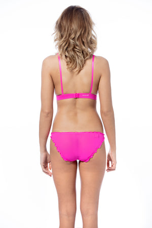 Soft Flirt Bra Hot Pink - Pom Lampson