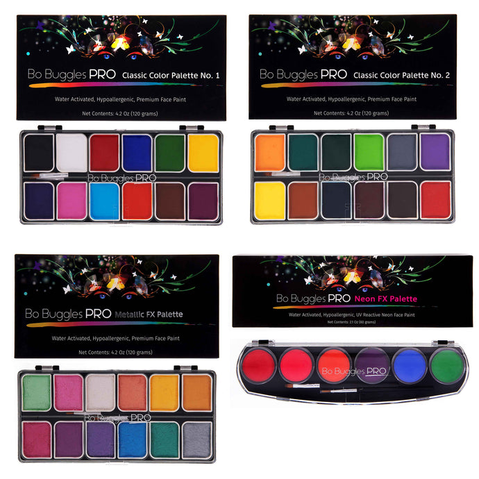 ULTIMATE PALETTE BUNDLE (NO.1 + NO.2 + METALLIC FX + NEON FX)