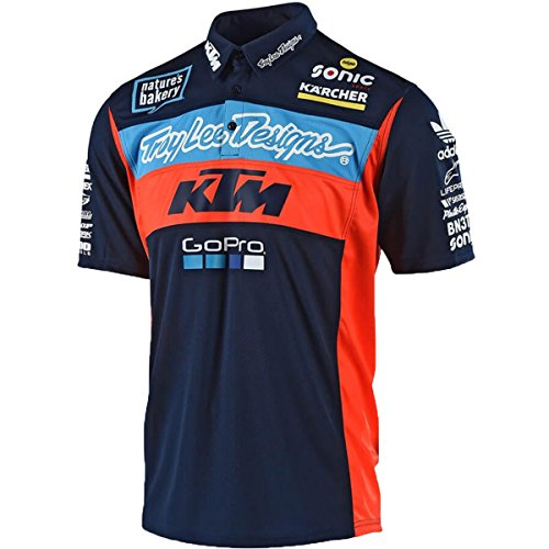 TroyLee Designs Polo KTM Team Pit Shirt
