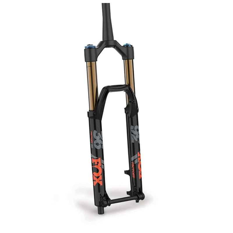 Fox Racing Shox 2019, 36, K, Float 26in, F-S, 160, Grip 2, HSC, LSC, HSR, LRS, Matte Blk, Orange/Matte Blk Logo15QR 1.125