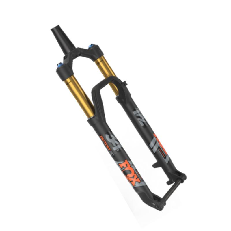 Fox Racing Shox 2020, 34, K, Float SC, 29in,F-S, 120, FIT4, 3Pos-Adj , Matted Blk,Orange/Matte Blk Logo,Kabolt 110