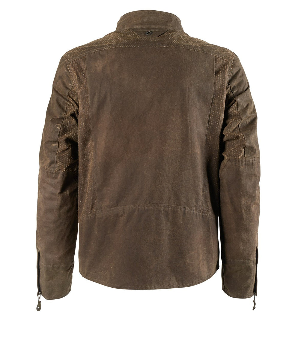 Roland Sands Design Duro Perf Waxed Cotton Jacket
