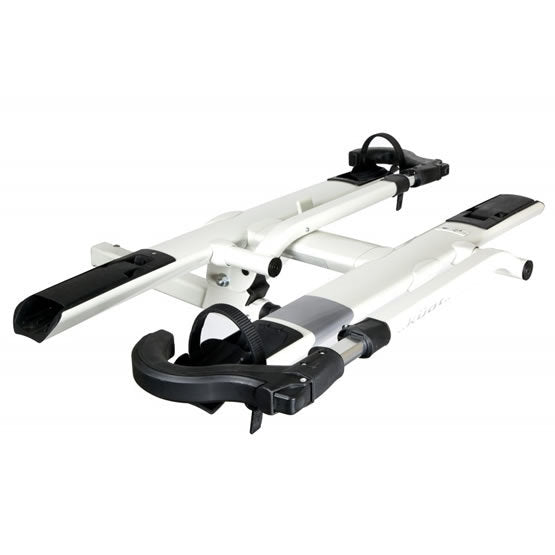 Kuat Sherpa 2.0 - 2 Bike Hitch Rack - For 1.25 Inch Hitch - Pearl & Silver