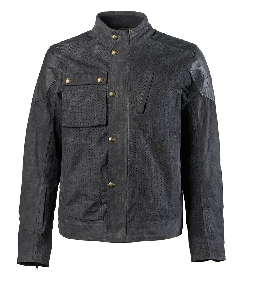 Roland Sands Truman Perf Waxed Cotton Jacket