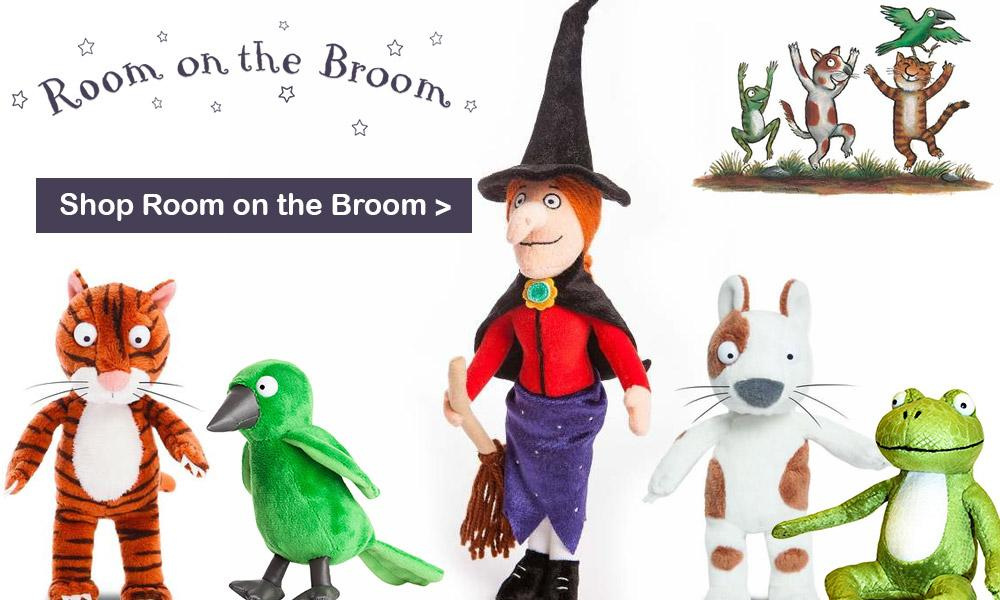 The Room On The Broom Soft Toy Collection