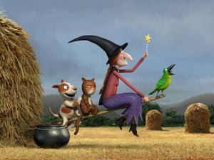 Who are the Room on the Broom Characters?