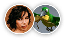 Bird from Room on the Broom played by Sally Hawkins