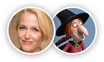 Gillian Anderson plays Witch