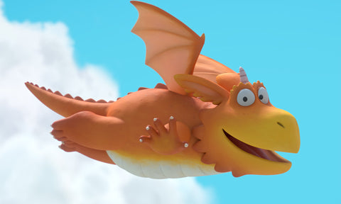 Zog Dragon Soft Toys available at Character Toy Store