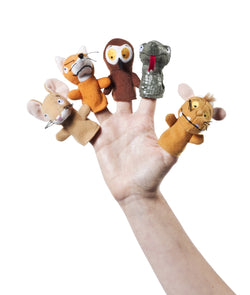 Gruffalo's Child Finger Puppet by Aurora