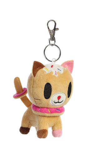 Tokidoki Biscottino Plush Key Ring Clip 4.5 inch