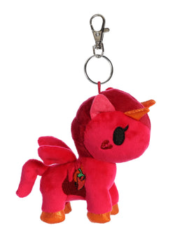 Tokidoki Peperino Unicorno Plush Key Ring Clip