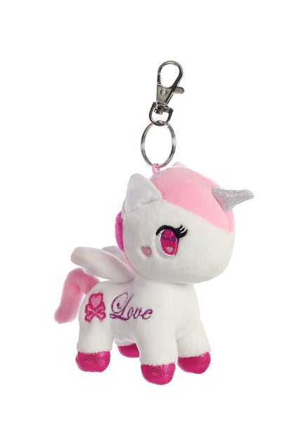 Tokidoki Lolopessa Unicorno Plush Key Ring Clip