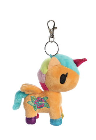 Tokidoki Kaili Unicorno Plush Key Ring Clip