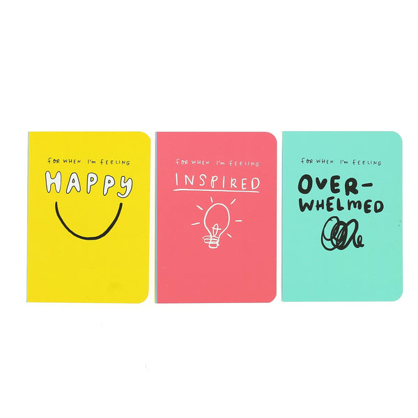 Happy News Mini Journal pack of three set