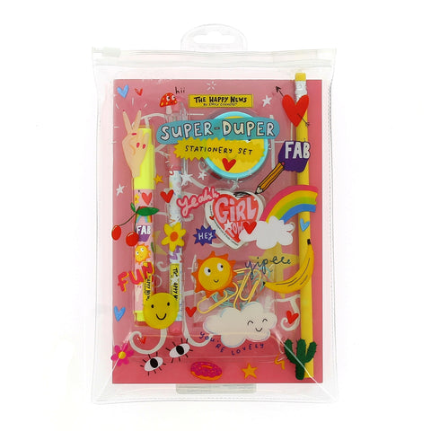 Happy News Super Stationery Set