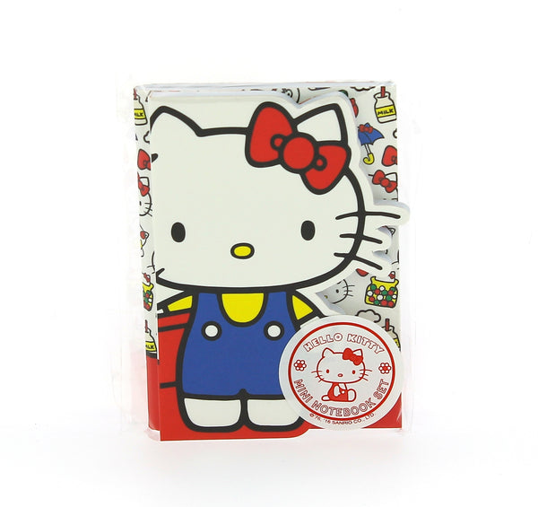 Hello Kitty Vintage Mini Notebook Set