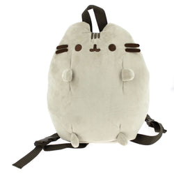 Pusheen Plush Backpack in Grey