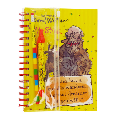 David Walliams Mr Stink A5 Notebook and Writing Set