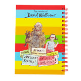 The World of David Walliams Mr Stink A5 Notebook and Writing Set