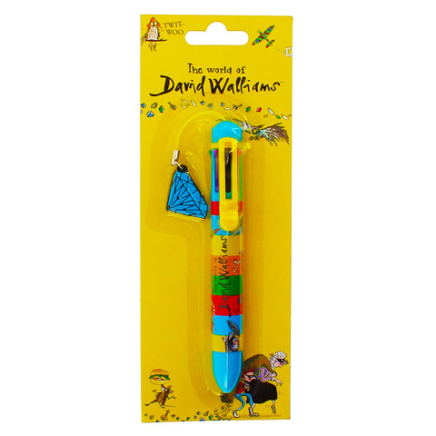 David Walliams 8 Colour Pen