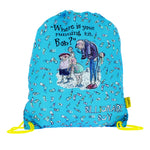 David Walliams Billionaire Boy Trainer Bag