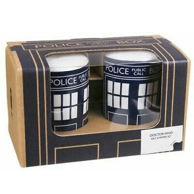 Dr Who Salt and Pepper Pots