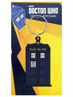 Doctor Who Tardis Rubber Key Ring