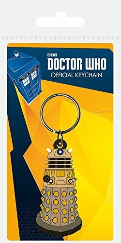 Doctor Who Dalek Rubber Key Ring