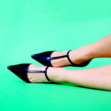 Why You Need Mostly Black Petite Heels!