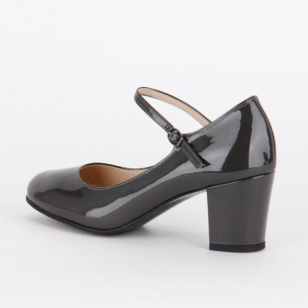 *AUDREY - black, 5cm size UK 2.5
