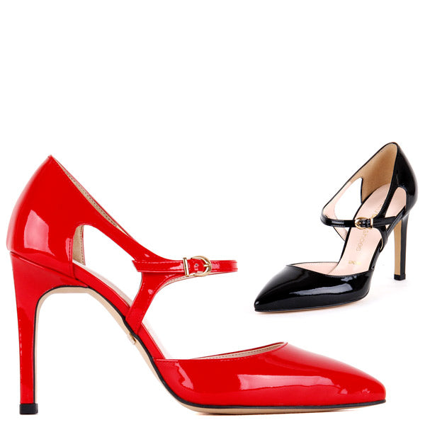 *BLAKE - red, 10cm size UK 3