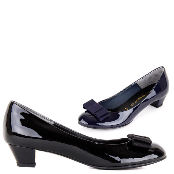*BLOOMSBURY - black, 3cm size UK 3