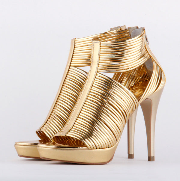 *CLEOPATRA - gold, 11.5/2cm size UK 2.5