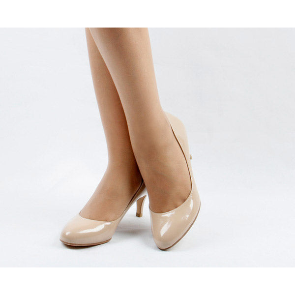 *CLOSER, light beige, 6cm, size UK 3