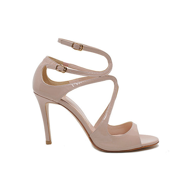 *CONFESSION - nude beige, 10cm size UK 1
