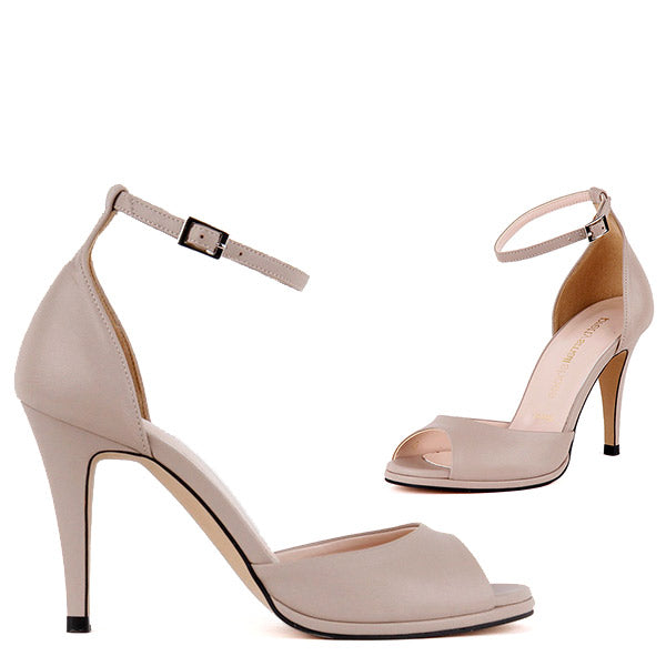 f121f90ef05 Petite Classic Ankle Strap Summer Open Toe -by Pretty Small Shoes