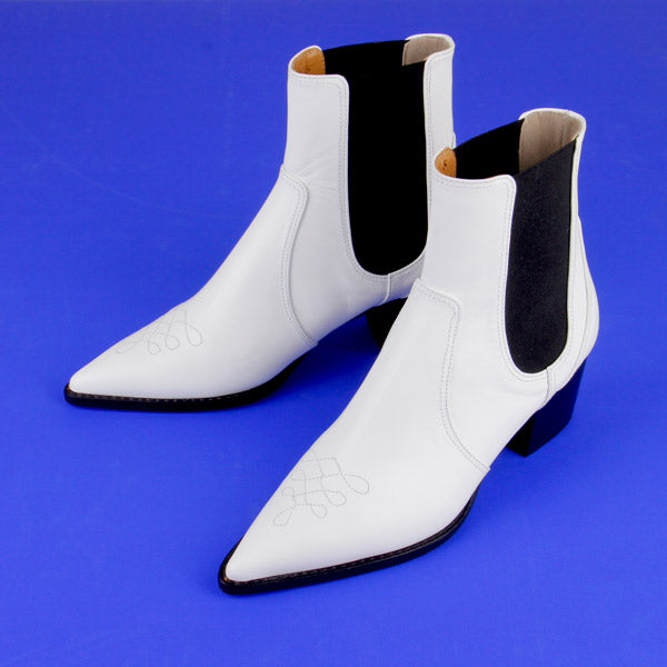 DALLAS White - ankle boot