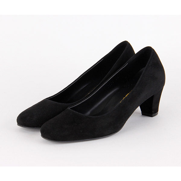 *JUDY - black leather, 5cm, size UK 2.5
