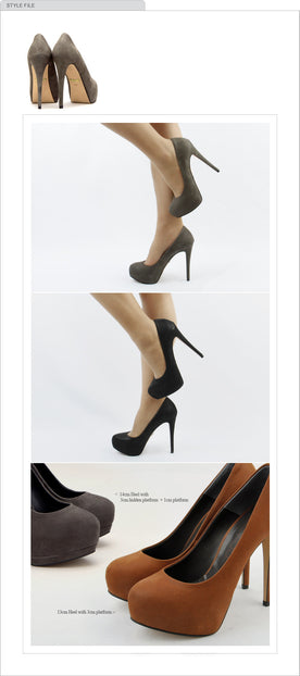 KILLER HEEL Nubuck Super High