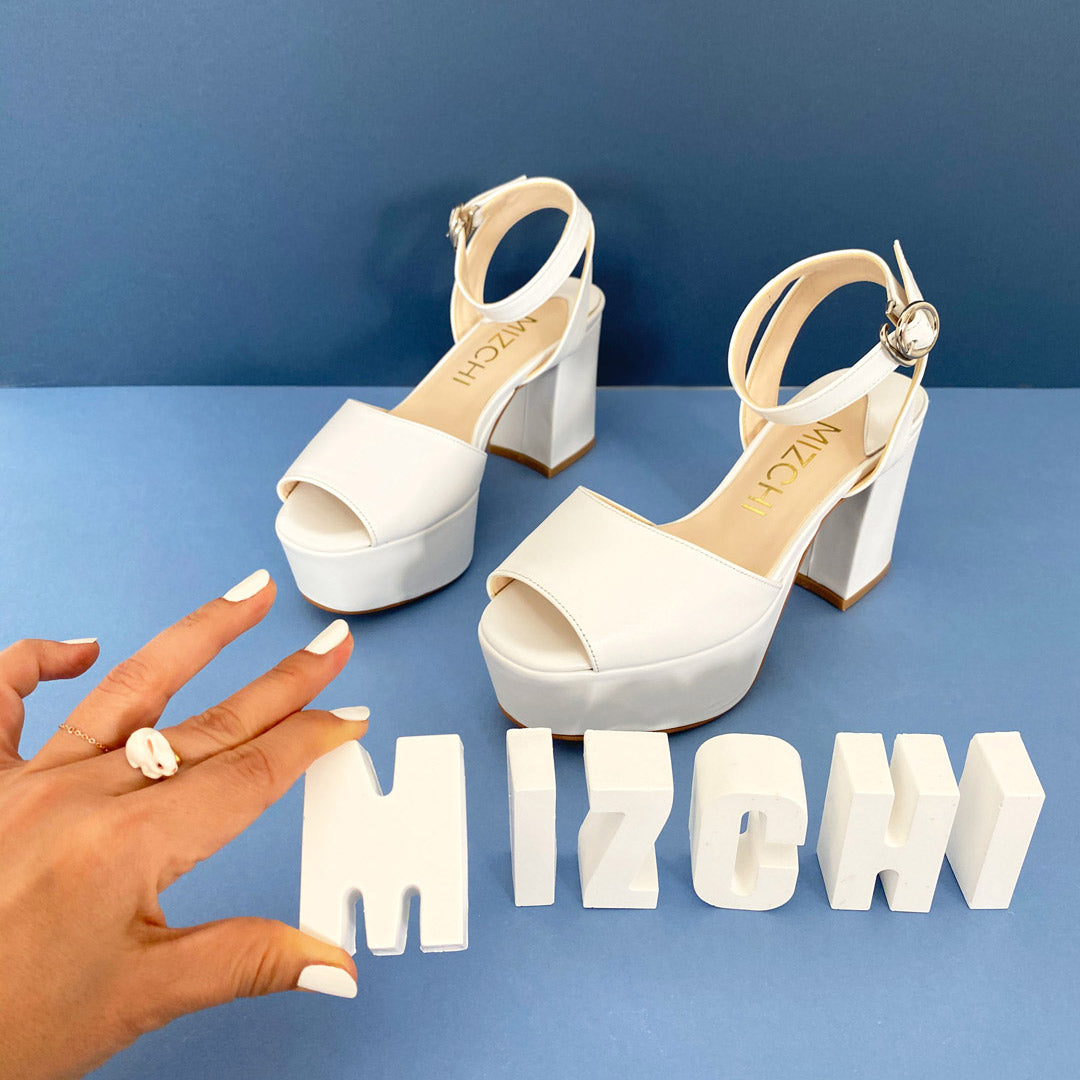 *LOFTY - white, 8/4cm size UK 1