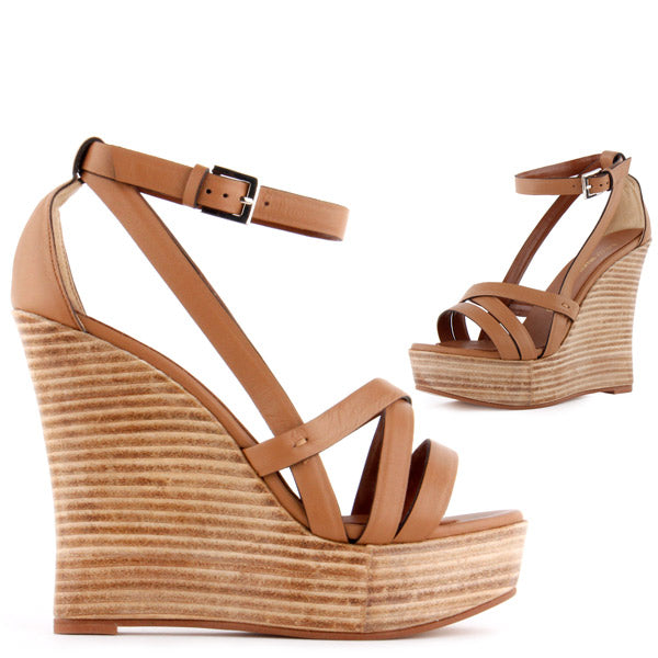 8d14d66a1647 Small size uk1 uk 2 uk 3 Ladies wedge heels strap leather sandals marvella  by Pretty Small Shoes