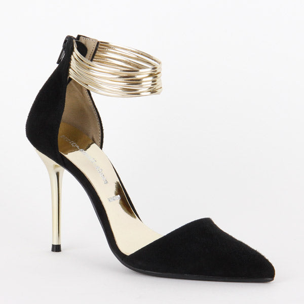 *GOLDENEYE - black & Gold, 8cm size UK 2