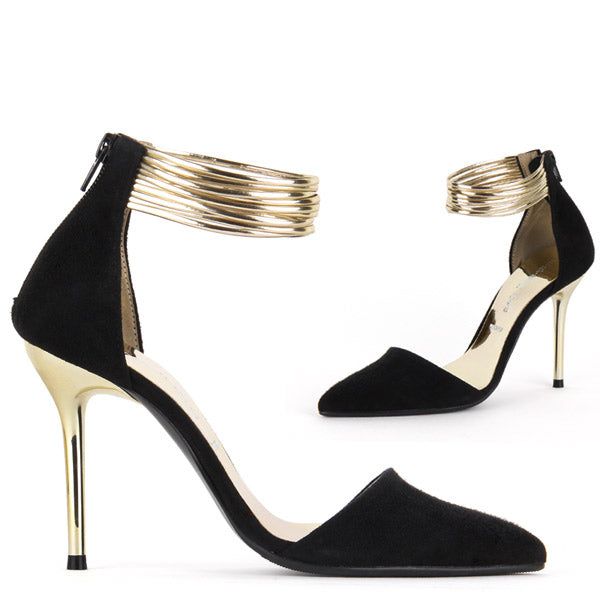 GOLDENEYE - high heels
