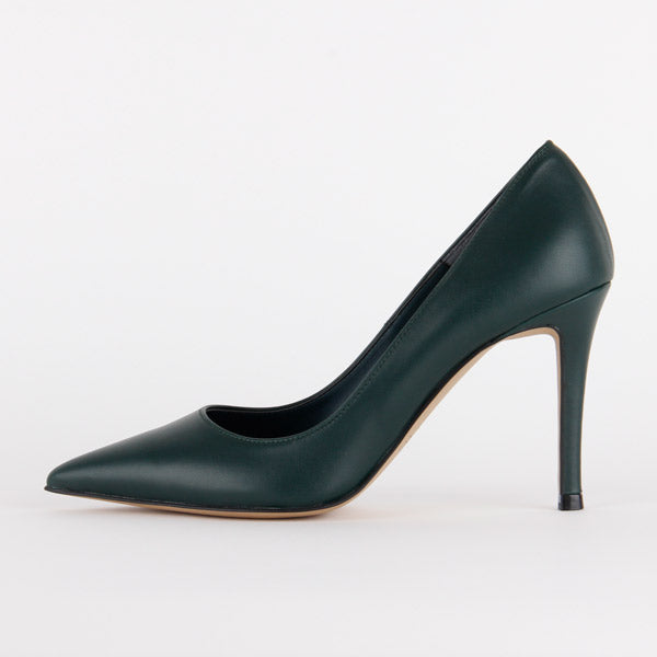 *ROSE AVENUE - AW17 Court, Green, 10cm, size UK 2
