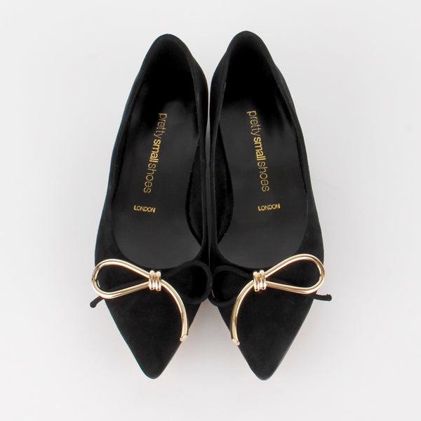 GOLD RIBBON - point toe flat