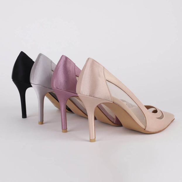 GIAN SILK - high heels
