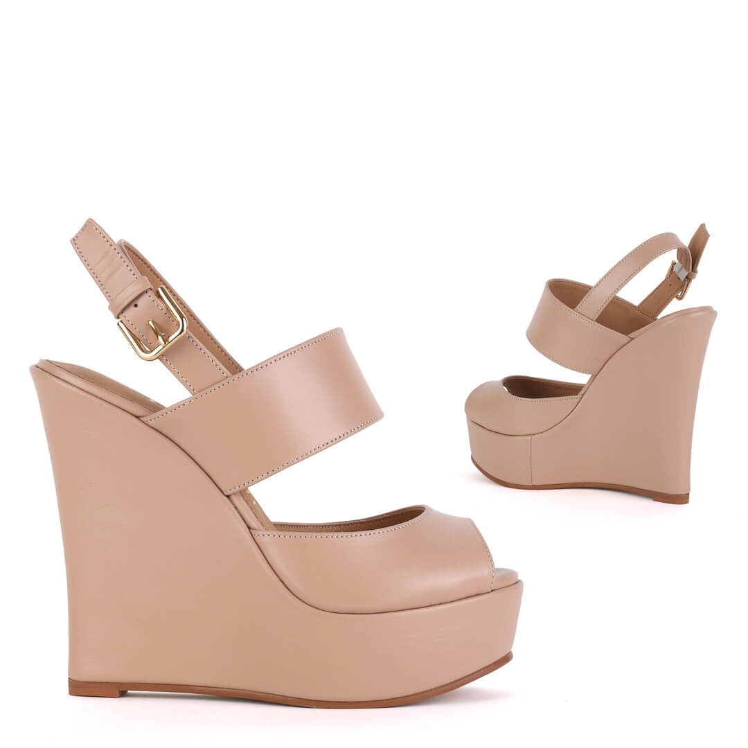 Ettie - Wedge Sandals