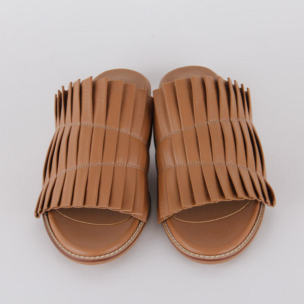 *LOLLA - slipper, camel, size 34.5