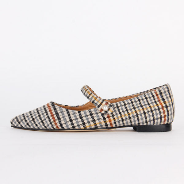 *BEDALE - mixed check, 1cm size UK 2